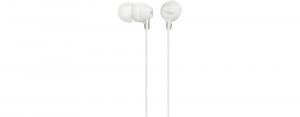 Sony MDR-EX155AP Cuffia Auricolare Connettore 3.5 mm Bianco