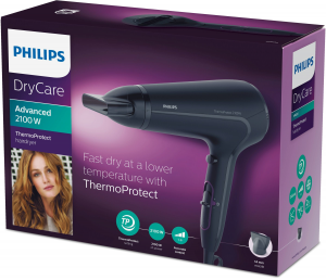 Philips ThermoProtect Asciugacapelli 2100 W