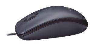 Logitech M100 mouse USB tipo A Ottico 1000 DPI Ambidestro