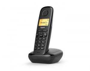 Gigaset A170 Telefono analogico/DECT Nero Identificatore di chiamata