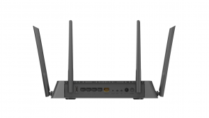 D-Link EXO AC2600 MU-MIMO router wireless Dual-band (2.4 GHz/5 GHz) Gigabit Ethernet Nero