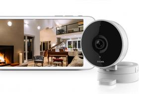 D-Link DCS-8010LH telecamera di sorveglianza Telecamera di sicurezza IP Interno Sferico Scrivania/Parete 1280 x 720 Pixel
