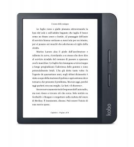Rakuten Kobo Libra H2O lettore e-book Touch screen 8 GB Wi-Fi Nero