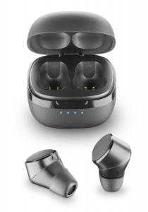 AQL Evade - Universale Auricolari in-ear True wireless con custodia di ricarica Nero