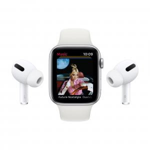 Apple Watch Serie 6 GPS + Cellular, 40mm in alluminio grigio siderale con cinturino Sport Nero