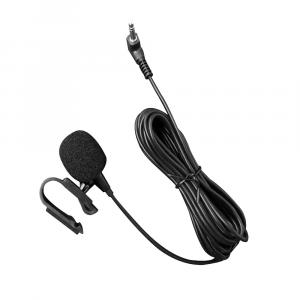Microfono Esterno Con Jack Da 3,5mm Cavo Da 3 Metri Montaggio Auto Plug And Play