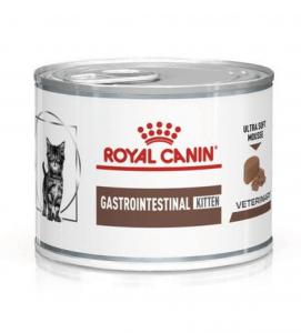 Royal Canin - Veterinary Diet Feline - Gastrointestinal Kitten - 195gr x 12 lattine