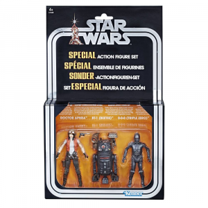Star Wars Premium Vintage Collection: 3-Pack Doctor Aphra Comic Set Exclusive by Hasbro