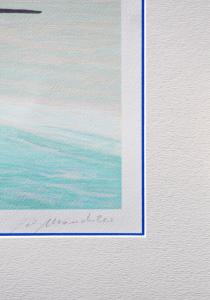 Mondelli Giò Composizione 17 Serigrafia e Litografia Form. cm 56x56