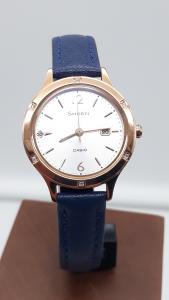Orologio donna Casio Sheen SHE-4533PGL-7BUER con cristalli SWAROVSKI, vendita on line | OROLOGERIA BRUNI Imperia