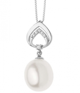 Comete Collana Fantasie di Perle - Perle a goccia 10x9 mm