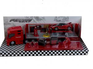 Ferrari Race and Play Racing Hauler 1/43