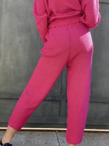Pantaloni in maglia di cotone Vicolo