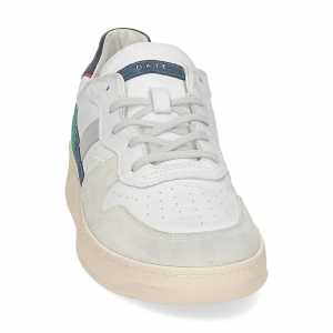 D.A.T.E. Court 2.0 vintage calf white blue-3