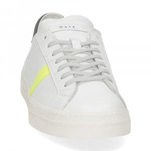 D.A.T.E. Hill low vintage calf white yellow-3