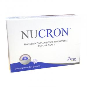 NUCRON (30 cpr) – Ripristina la flora intestinale nel cane e nel gatto