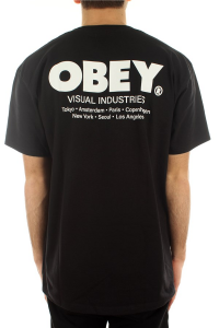 T-Shirt Obey Visual Industries Classic Tee