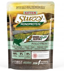 Stuzzy Cat - Monoprotein - Kitten - 85g x 6 buste