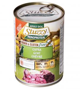 Stuzzy Dog - Monoprotein - Special Menù - Capra - 400g x 6 lattine