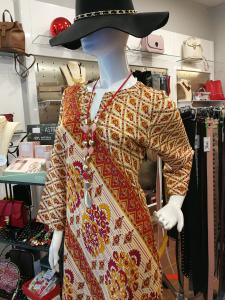 Abito corto donna etnico. Abbigliamento orientale online