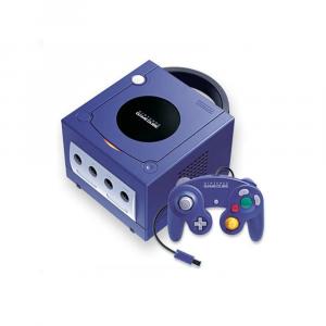 Console Nintendo GAME CUBE - viola classic + 1 gioco e Memory Card