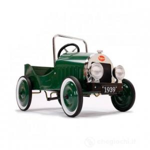 Macchina a Pedali Vintage Classic Green Baghera