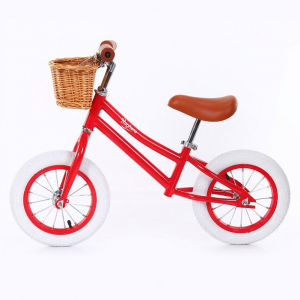 Bicicletta senza pedali Balance Bike Red Baghera