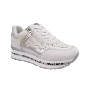 Sneakers Donna Energy 353 BIANCO  -10