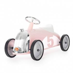 Auto Cavalcabile Vintage Da Corsa Per Bambini Baghera Rider Petal Rosa