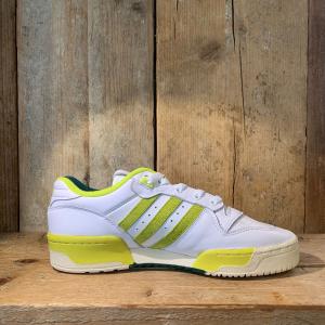 Scarpa Adidas Rivalrly Low Premium Bianca e Verde