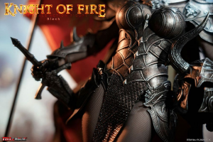*PREORDER* KNIGHT OF FIRE - BLACK EDITION1/6 by TBLeague