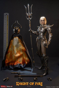 *PREORDER* KNIGHT OF FIRE - SILVER EDITION 1/6 by TBLeague