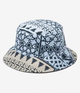 Cappello Obey Bandana Bucket Hat Navy Double Face