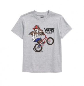 T-Shirt Vans KIDS Extreme Shark Athletic