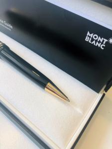 Penna a sfera Mont Blanc Meisterstuck Gold-Coated LeGrand