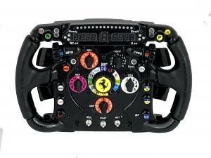 Ferrari F138 Steering Wheel Amalgam 1/4