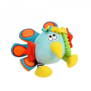 Peluche Pierre Il Pavone Shaker Dolce Toys