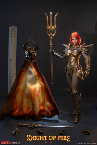 *PREORDER* KNIGHT OF FIRE - GOLDEN EDITION 1/6 by TBLeague