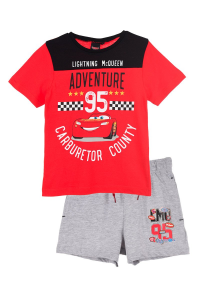 Completo Cars t-shirt con pantaloncini Estate 2021