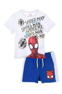 Completo Spiderman t-shirt con pantaloncini 3 4 6 8 anni Estate 2021