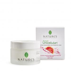 Crema Maschera Nutriente Viso Acque Unicellulari