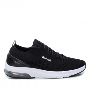 Sneakers in tessuto black
