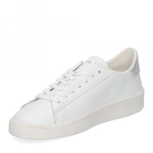 D.A.T.E. Ace Pop white silver-4