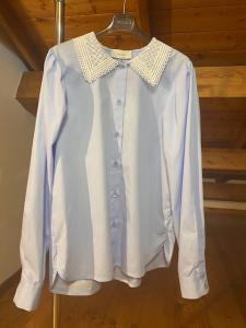 Camicia Vicolo colletto Macramè