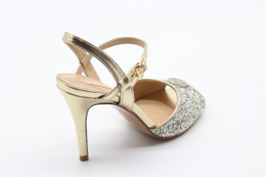 Liu Jo sandalo tacco alto glitter