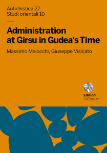 Administration at Girsu in Gudea's Time