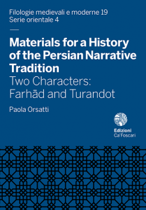 Materials for a History of the Persian Narrative Tradition