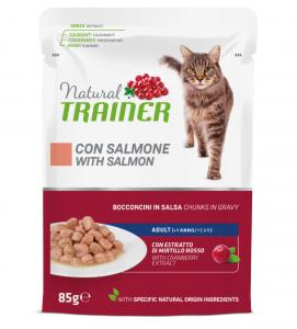 Trainer Natural - Adult - Multipack - Pollo/Salmone - 2 x 12 buste da 85g