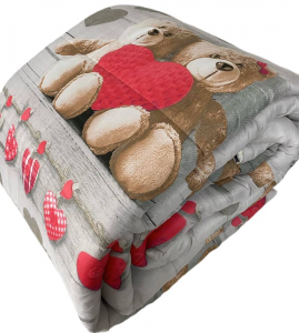 Trapunta teddy
