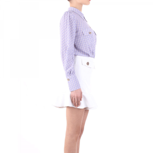 Camicia a body Elisabetta Franchi CB01411E2 Q45 -21
